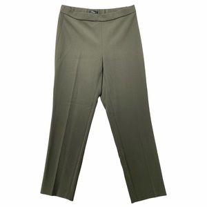 Theory Mid Rise Stretch Crepe Basic Pull On Pant